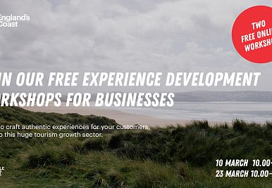 ​Join our FREE Experience workshops for tourism businesses!