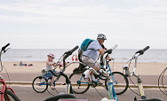 Visitor Profile: Cycling at the seaside